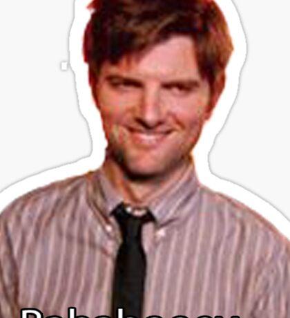 Ben Wyatt- Bababooey Sticker