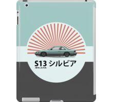 Nissan Silvia S13 - Rising Sun iPad Case/Skin