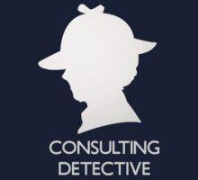 Consulting Detective Sherlock Shirt - Dark by jlechuga