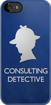 Consulting Detective Sherlock Shirt - Light by jlechuga