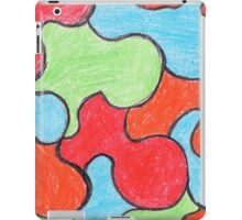 Abstract Art Design, Colours Colors Colour Spectrum Spectral Color Puzzle By Chris McCabe - DRAGAN GRAFIX iPad Case/Skin