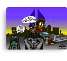 To the Trill-Mobile Canvas Print