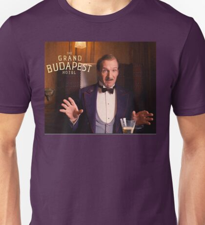 The Grand Budapest Hotel : M. Gustave Unisex T-Shirt