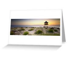 The Entrance Life Guard Tower Greeting Card