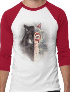 Bring Down the Wolf's Head Men's Baseball ¾ T-Shirt