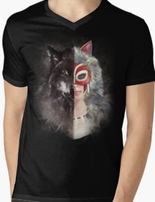 Bring Down the Wolf's Head Mens V-Neck T-Shirt