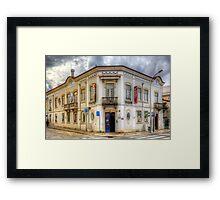 Municipal Building Loule Framed Print