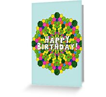 Birthday card-pattern Greeting Card