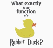 Function of a Rubber Duck by OutlineArt