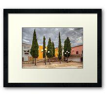 Loule Tree Garden Framed Print