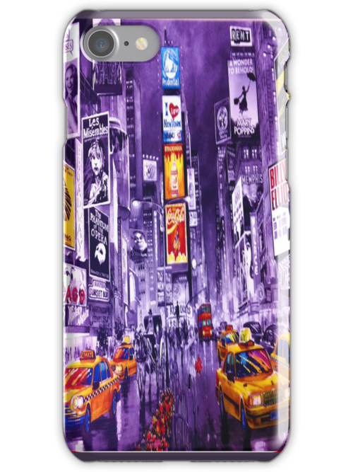 Broadway Painting by hilldog
