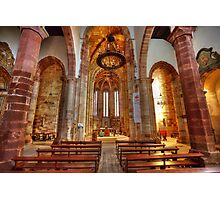 Interior Silves Cathedral Photographic Print