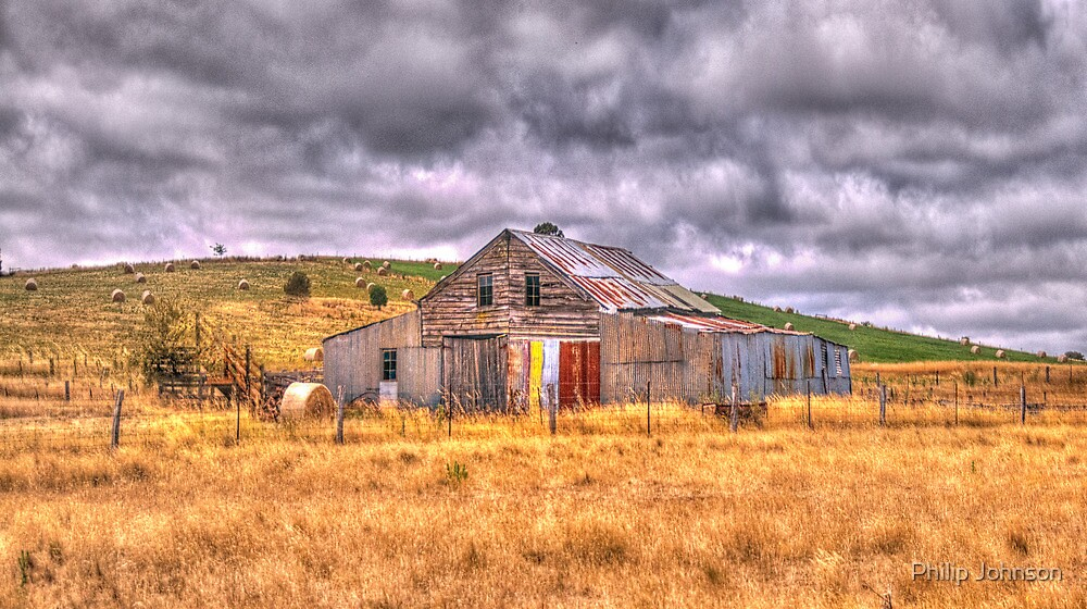 Click Go The Shears - Somewhere in Northern Victoria - The HDR Experience by Philip Johnson