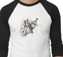 D110507 Men's Baseball ¾ T-Shirt