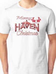 Merry Haven Christmas Logo Unisex T-Shirt