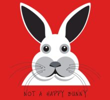 Not a Happy Bunny! - T Shirt Kids Tee