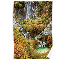 Plitvice Lakes in Croatia Poster