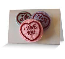 Sweet Love Hearts Greeting Card