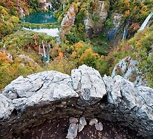 Plitvice Lakes Vantage Point by Artur Bogacki