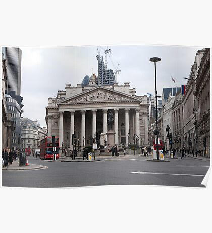 The Royal Exchange in London Poster