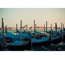 Venice gondols Photographic Print