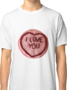 Sweet Love Heart - I Love You Classic T-Shirt