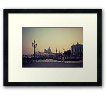 Venice landscape Framed Print