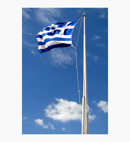 Greek Pride Photographic Print