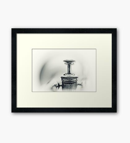 All Blues... Framed Print