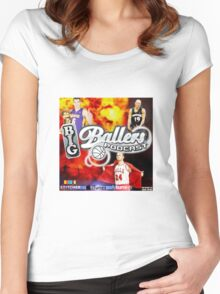 Big Ballers Podcast Cover Women's Fitted Scoop T-Shirt