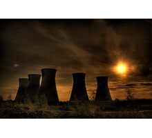 Nuclear Winter. Photographic Print