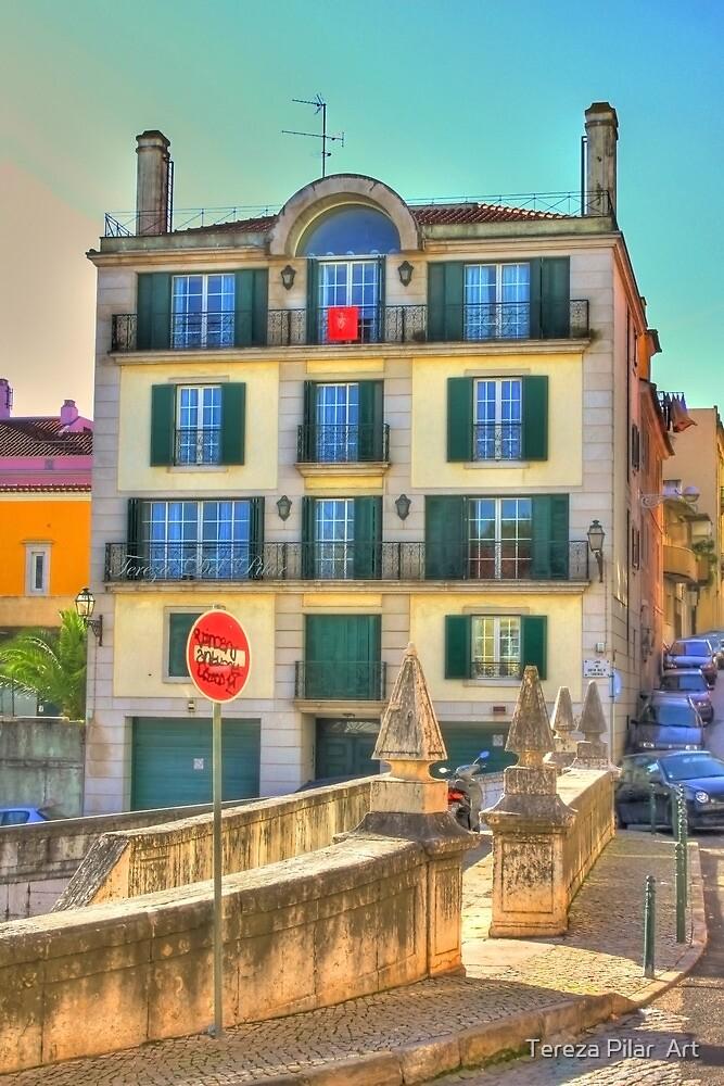 Largo Dr. José Figueiredo. Lisboa by terezadelpilar ~ art & architecture