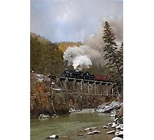 The High Bridge Over the Los Animas River Photographic Print