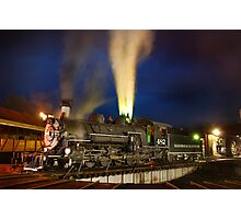 482 on the Turntable Photographic Print