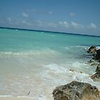 Quiet Caribbean beach view by kelly-m-wall