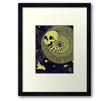 Spiraling Through the Crack in the Sky Framed Print