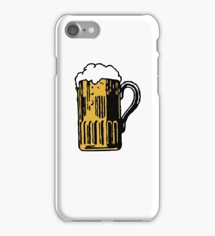 Beer and drunk iPhone Case/Skin