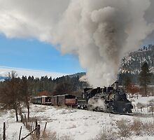 Winter Mixed Freight to Rockwood by Ken Smith