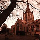 Holy Trinity Church Warwickshire by kelly-m-wall