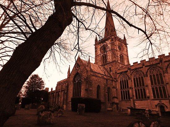 Holy Trinity Church Warwickshire by kelly-m-wall