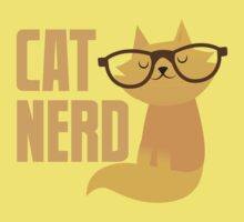 CAT NERD (professional vet or self-proclaimed expert on cats!) Baby Tee