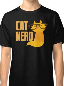 CAT NERD (professional vet or self-proclaimed expert on cats!) Classic T-Shirt