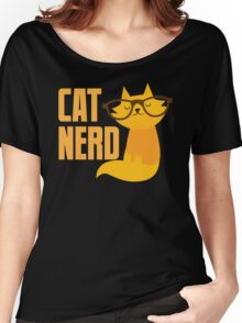 CAT NERD (professional vet or self-proclaimed expert on cats!) Women's Relaxed Fit T-Shirt