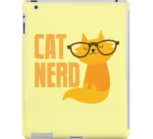 CAT NERD (professional vet or self-proclaimed expert on cats!) iPad Case/Skin