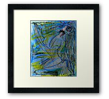 Melancholy Shimmering Framed Print