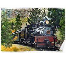 West Side Lumber Shay #14 on the Georgetown Loop Railroad Poster