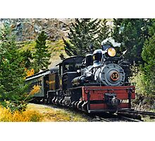 West Side Lumber Shay #14 on the Georgetown Loop Railroad Photographic Print
