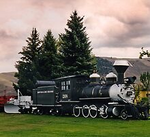 D&RGW C-16 #268 Gunnison, CO by Ken Smith