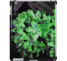 Textured flowers .. ipad case iPad Case/Skin
