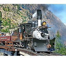 C&S #9 on the GLP Railroad Photographic Print